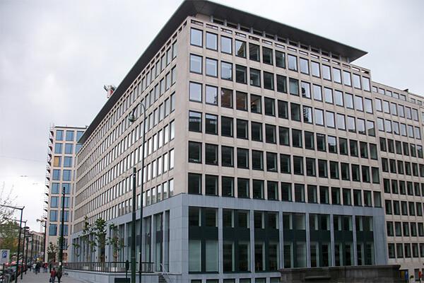 Brüssel Justizpalast